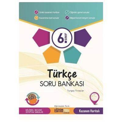 6. Sınıf Türkçe Soru Bankası Eğitim Park Yayınları