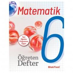 Blok Test Yayınları - 6.Sınıf Matematik Öğreten Defter Blok Test Yayınları