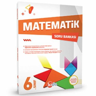 6.Sınıf Matematik Soru Bankası Kida Yayıncılık