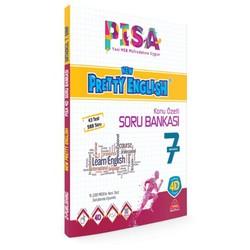 Damla Yayınevi - 7. Sınıf PISA New Pretty English Konu Özetli Soru Bankası Damla Yayıncılık