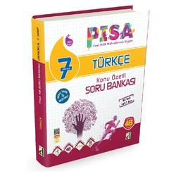 Damla Yayınevi - 7. Sınıf PISA Türkçe Konu Özetli Soru Bankası Damla Damla Yayıncılık
