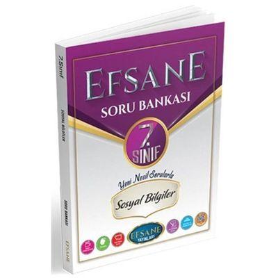 7. Sınıf Sosyal Bilgiler Soru Bankası Efsane Yayınları