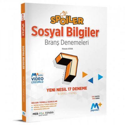 7. Sınıf Sosyal Bilgiler Spoiler Branş Denemeleri Martı Yayınları