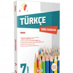 Kida Kitap - 7. Sınıf Türkçe Soru Bankası Kida Yayınları