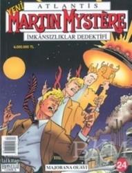 Lal Kitap - Martin Mystere Majorana Olayı Sayı: 24 İmkânsızlıklar Dedektifi