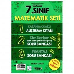 Örnek Akademi - 7.Sınıf Matematik Çek Kopar Soru Bankası Seti Örnek Akademi