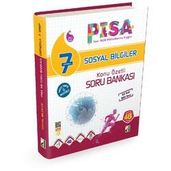 Damla Yayınevi - 7.Sınıf Pisa 4B Sosyal Bilgiler Soru Bankası Damla Yayıncılık