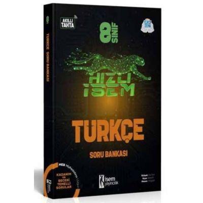 8. Sınıf Hızlı İsem Türkçe Soru Bankası İsem Yayıncılık