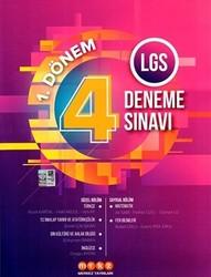 Merkez Yayınları - 8. Sınıf LGS 1. Dönem 4 Deneme Sınavı Merkez Yayınları