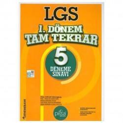 DenemeBank - 8. Sınıf LGS 1. Dönem Tam Tekrar 5 Deneme Sınavı DenemeBank Yayınları
