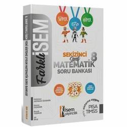 İSEM Yayıncılık - 2020 Farklı İsem LGS 8. Sınıf Matematik Soru Bankası