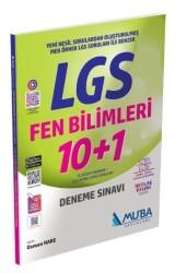 Muba Yayınları - 8. Sınıf LGS Fen Bilimleri 10 Artı 1 Deneme Sınavı Muba Yayınları
