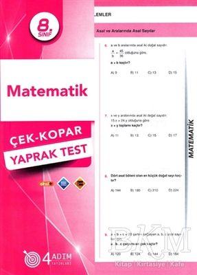 8. Sınıf Matematik Çek-Kopar Yaprak Test