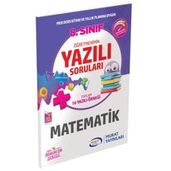 Murat Yayınları - 8. Sınıf Matematik Öğretmenimin Yazılı Soruları Murat Yayınları