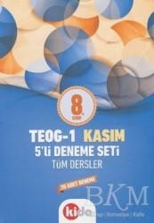Kida Kitap - 8. Sınıf TEOG - 1 Kasım Tüm Dersler 5'li Deneme Seti