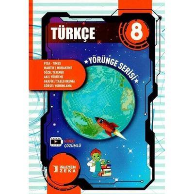 8. Sınıf Türkçe Yörünge Serisi Soru Bankası İşleyen Zeka Yayınları