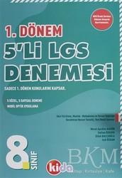 Kida Kitap - 8.Sınıf 1. Dönem 5'li LGS Denemesi