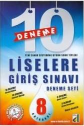 Damla Yayınevi - 8.Sınıf LGS Liselere Giriş Sınavı 10 Deneme Seti Damla Yayınevi