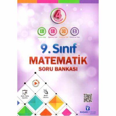 9. Sınıf 4 Adımda Matematik Soru Bankası Başarıyorum Yayınları