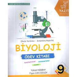 Yazıt Yayınları - 9. Sınıf Biyoloji Ödev Kitabı