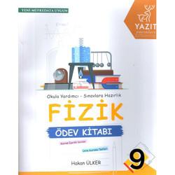 Yazıt Yayınları - 9. Sınıf Fizik Ödev Kitabı