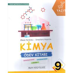 Yazıt Yayınları - 9. Sınıf Kimya Ödev Kitabı