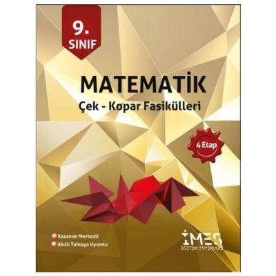 9. Sınıf Matematik Çek Kopar Fasikülleri İMES Eğitim Yayınları