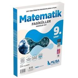 Muba Yayınları - 9. Sınıf Matematik Fasikül Modüler Set Muba Yayınları