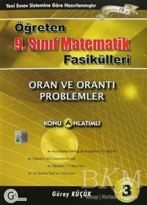 9. Sınıf Matematik Fasikülleri 3 Oran ve Orantı Problemler