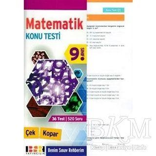 9. Sınıf Matematik Konu Testi