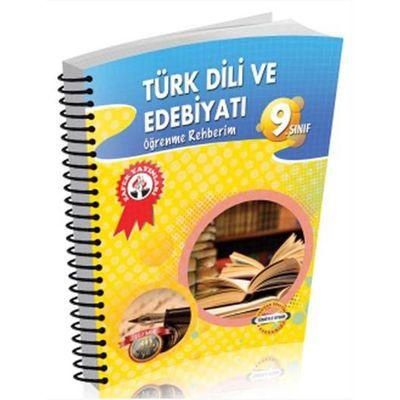 9. Sınıf Öğrenme Rehberim Türk Dili ve Edebiyatı Akıllı Defter Zafer Yayınları