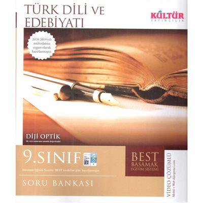 9. Sınıf Türk Dili ve Edebiyatı BEST Soru Bankası Kültür Yayıncılık