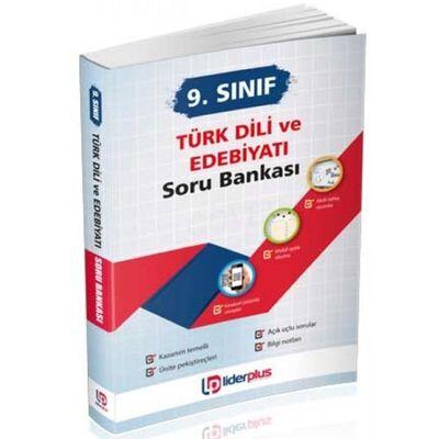 9. Sınıf Türk Dili ve Edebiyatı Çözümlü Soru Bankası Lider Plus Yayınları