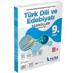 Muba Yayınları - 9. Sınıf Türk Dili ve Edebiyatı Fasiküller Modüler Set Muba Yayınları