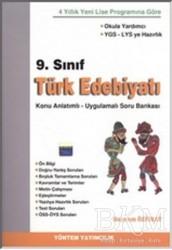Yöntem Yayınları - 9. Sınıf Türk Edebiyatı Konu Anlatımlı - Uygulamalı Soru Bankası