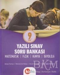 Kida Kitap - 9. Sınıf Yazılı Sınav Soru Bankası Matematik-Fizik-Kimya-Biyoloji
