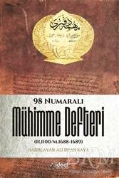 İdeal Kültür Yayıncılık Ders Kitapları - 98 Numaralı Mühimme Defteri