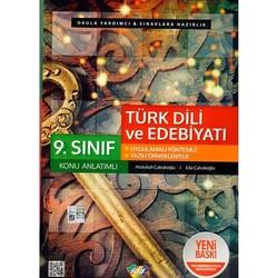 Fdd Yayınları - 9. Sınıf Türk Dili ve Edebiyatı Konu Anlatımlı