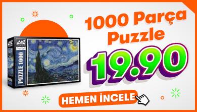 1000 Parça Puzzle 19.90 TL - Neverland Puzzle