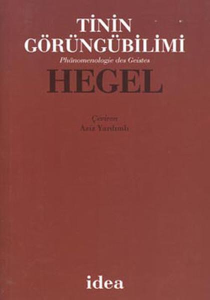 Hegel – Tinin Görüngübilimi
