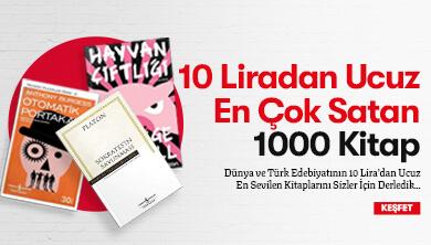 10 Liradan Ucuz En Çok Satan 1000 Kitap