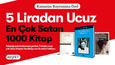 5 Liradan Ucuz En Çok Satan 1000 Kitap