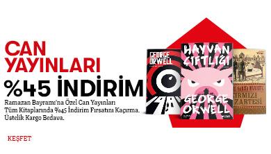Can Yayınları %45 NET İNDİRİM!
