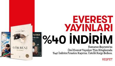 Everest Yayınları %40 NET İNDİRİM!
