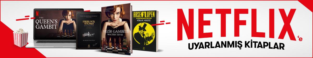 Dev Ekim Dev Kitap Fuarı - Netflix'e Uyarlanmış Kitaplar
