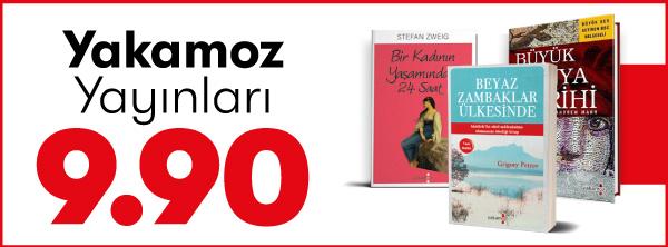 Dev Ekim Dev Kitap Fuarı - Yakamoz Yayınları 9.90 TL Kampanyalı Kitapları
