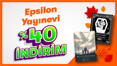Dev Ekim Dev Kitap Fuarı - Epsilon Yayınevi