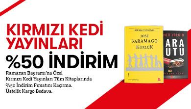 Kırmızı Kedi Yayınları %50 NET İNDİRİM!