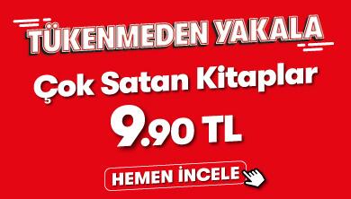 Tükenmeden Yakala - Çok Satan Kitaplar 9,90 TL Kampanyası