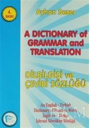 Pelikan Tıp Teknik Yayıncılık - A Dictionary of Grammar and Translation
